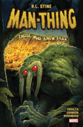 MAN-THING BY R. L. STINE VOLUME 1 GRAPHIC NOVEL