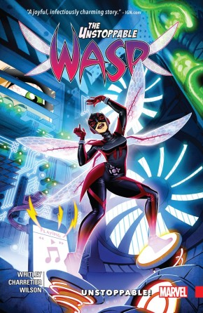 UNSTOPPABLE WASP VOLUME 1 UNSTOPPABLE GRAPHIC NOVEL