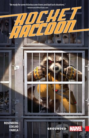 ROCKET RACCOON GROUNDED GRAPHIC NOVEL