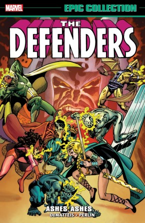 DEFENDERS EPIC COLLECTION ASHES ASHES GRAPHIC NOVEL