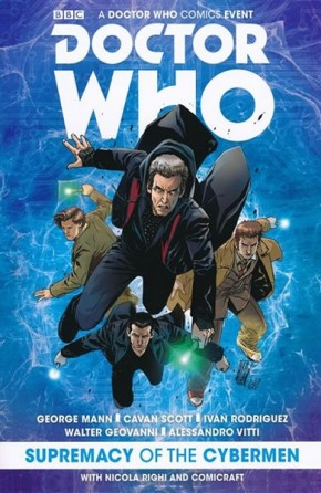DOCTOR WHO SUPREMACY OF THE CYBERMEN GRAPHIC NOVEL