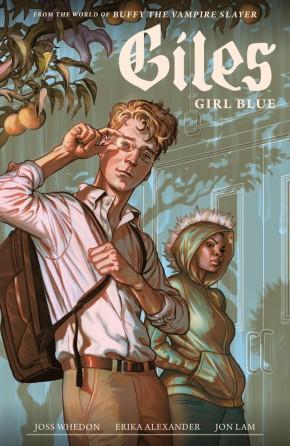 BUFFY THE VAMPIRE SLAYER SEASON 11 GILES GIRL BLUE VOLUME 1 GRAPHIC NOVEL
