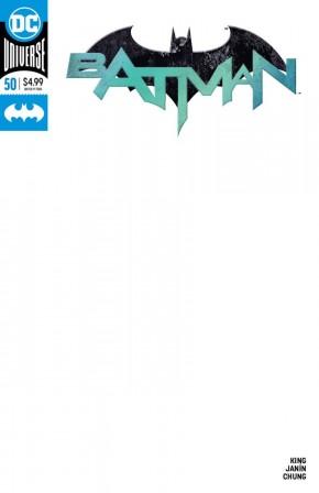 BATMAN #50 (2016 SERIES) BLANK VARIANT