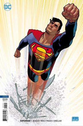 SUPERMAN #1 (2018 SERIES) HUGHES VARIANT