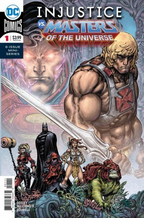 INJUSTICE VS THE MASTERS OF THE UNIVERSE #1