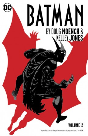 BATMAN BY DOUG MOENCH AND KELLEY JONES VOLUME 2 HARDCOVER