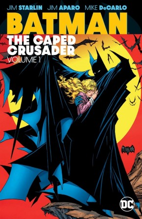 BATMAN THE CAPED CRUSADER VOLUME 1 GRAPHIC NOVEL