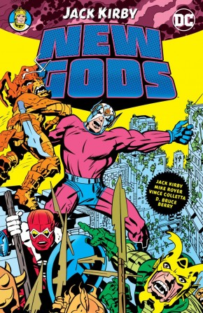 NEW GODS BY JACK KIRBY GRAPHIC NOVEL