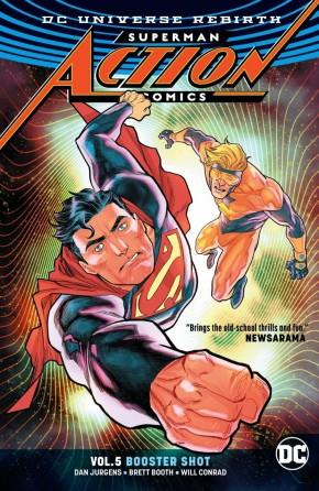 SUPERMAN ACTION COMICS VOLUME 5 BOOSTER SHOT GRAPHIC NOVEL