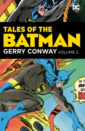 TALES OF THE BATMAN GERRY CONWAY VOLUME 2 HARDCOVER