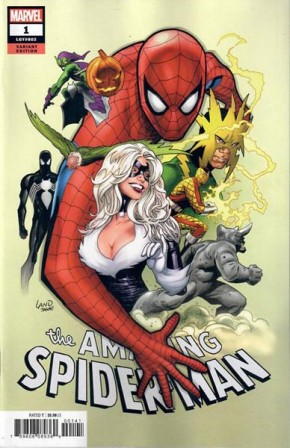 AMAZING SPIDER-MAN #1 (2018 SERIES) LAND PARTY VARIANT