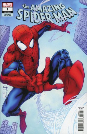 AMAZING SPIDER-MAN #1 (2018 SERIES) DAVIS VARIANT (1 IN 25 INCENTIVE)