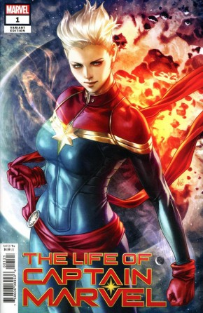 LIFE OF CAPTAIN MARVEL #1 ARTGERM VARIANT