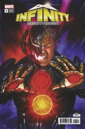 INFINITY COUNTDOWN #5 ULTRON HOLDS INFINITY VARIANT