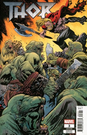 THOR #3 (2018 SERIES) CONNECTING HAMMER 1 IN 10 INCENTIVE VARIANT