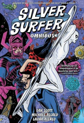 SILVER SURFER BY SLOTT AND ALLRED OMNIBUS HARDCOVER