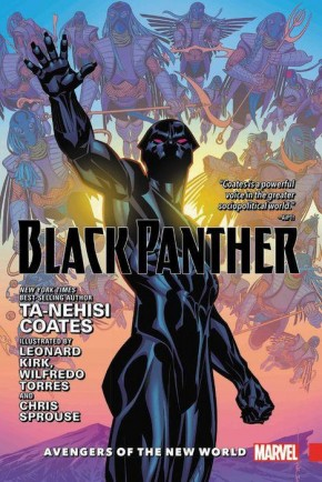 BLACK PANTHER VOLUME 2 AVENGERS OF THE NEW WORLD HARDCOVER