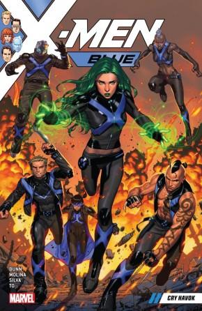 X-MEN BLUE VOLUME 4 CRY HAVOK GRAPHIC NOVEL