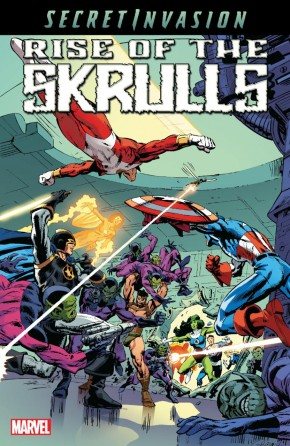 SECRET INVASION RISE OF THE SKRULLS GRAPHIC NOVEL