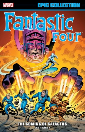 FANTASTIC FOUR EPIC COLLECTION THE COMING OF GALACTUS GRAPHIC NOVEL
