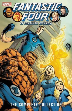 FANTASTIC FOUR BY JONATHAN HICKMAN THE COMPLETE COLLECTION VOLUME 1 GRAPHIC NOVEL