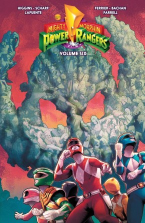 MIGHTY MORPHIN POWER RANGERS VOLUME 6 GRAPHIC NOVEL
