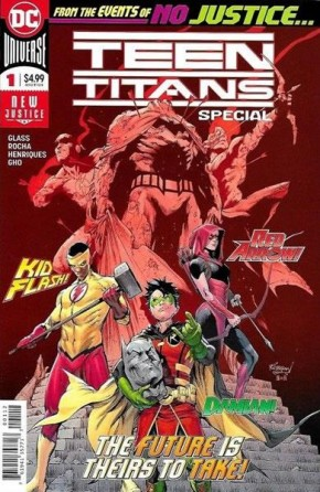 TEEN TITANS SPECIAL #1 (2016 SERIES) 2ND PRINTING