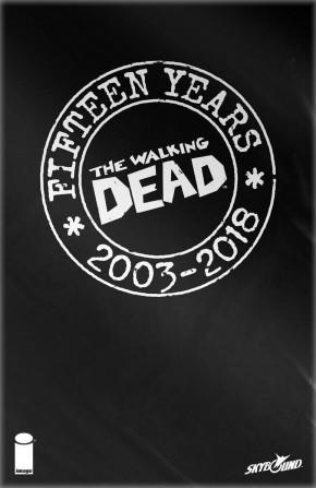WALKING DEAD #132 15TH ANNVERSARY BLIND BAG WOOD VARIANT