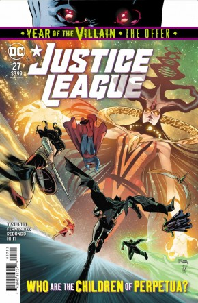 JUSTICE LEAGUE #27 (2018 SERIES)