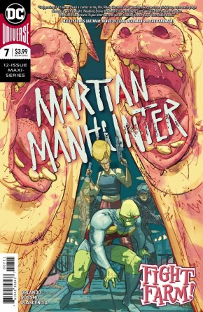 MARTIAN MANHUNTER #7 (2018 SERIES)