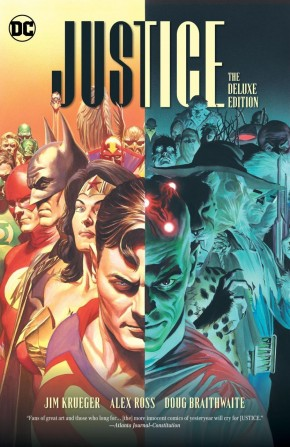 JUSTICE THE DELUXE EDITION HARDCOVER