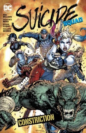 SUICIDE SQUAD VOLUME 8 CONSTRICTION GRAPHIC NOVEL
