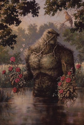 SWAMP THING BY NANCY A COLLINS OMNIBUS HARDCOVER