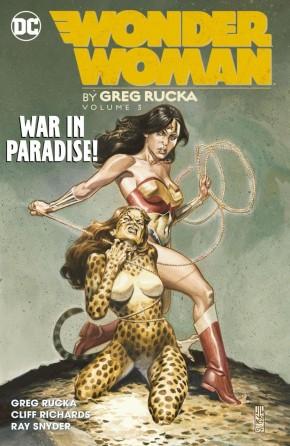 WONDER WOMAN BY GREG RUCKA VOLUME 3 GRAPHIC NOVEL