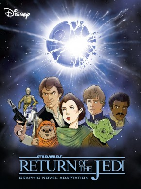 STAR WARS RETURN OF THE JEDI ADAPTATION GRAPHIC NOVEL (IDW EDITION)