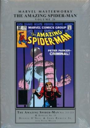MARVEL MASTERWORKS AMAZING SPIDER-MAN VOLUME 21 HARDCOVER