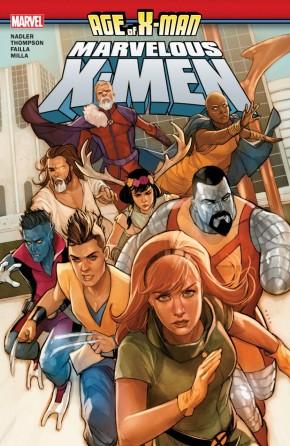 AGE OF X-MAN MARVELOUS X-MEN GRAPHIC NOVEL