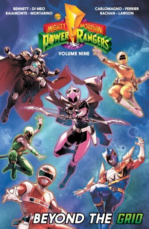 MIGHTY MORPHIN POWER RANGERS VOLUME 9 GRAPHIC NOVEL