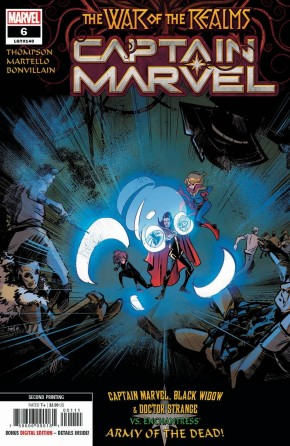 CAPTAIN MARVEL #6 (2019 SERIES) 2ND PRINTING