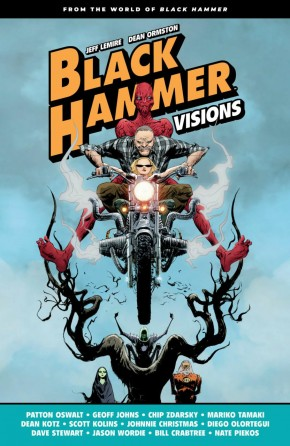 BLACK HAMMER VISIONS VOLUME 1 HARDCOVER
