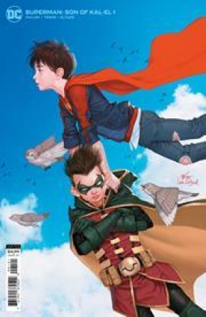 SUPERMAN SON OF KAL EL #1 INHYUK LEE CARD STOCK VARIANT