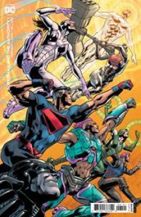 SUPERMAN AND THE AUTHORITY #1 BRYAN HITCH CARD STOCK VARIANT
