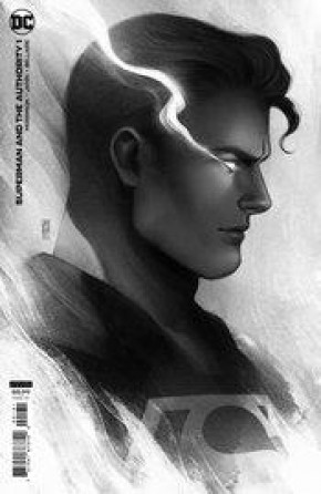 SUPERMAN AND THE AUTHORITY #1 JEN BARTEL HEADSHOT 1 IN 25 INCENTIVE VARIANT