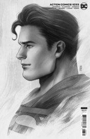 ACTION COMICS #1033 (2016 SERIES) JEN BARTEL HEADSHOT CARD STOCK 1 IN 25 INCENTIVE VARIANT