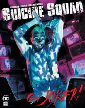 SUICIDE SQUAD GET JOKER #1 COVER A