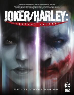 JOKER HARLEY CRIMINAL SANITY HARDCOVER