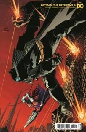 BATMAN THE DETECTIVE #4 ANDY KUBERT CARD STOCK VARIANT