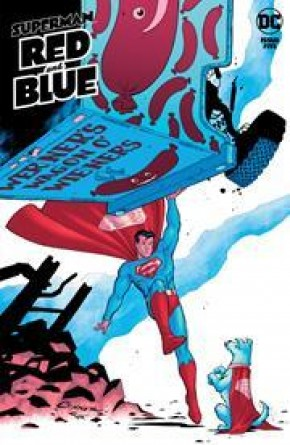 SUPERMAN RED AND BLUE #5