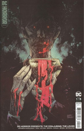 DC HORROR PRESENTS THE CONJURING THE LOVER #1 2ND PRINITING