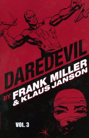 DAREDEVIL BY MILLER AND JANSON VOLUME 3 GRAPHIC NOVEL